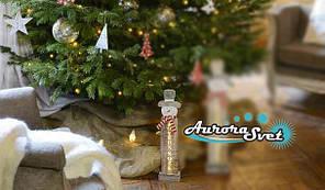 LED Снеговик С Рождеством Христовым. Светодиодная гирлянда. Гирлянда LED. Производство Франция.