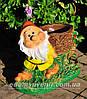 Садовая фигура Кашпо Гномы, фото 3