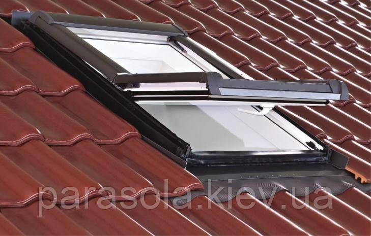 Вікно мансардне Designo WDF R48 K W WD AL 07/14