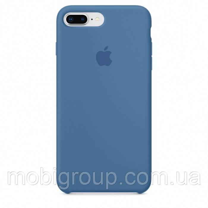 Чехол Silicone Case для iPhone 7 Plus, Denim Blue