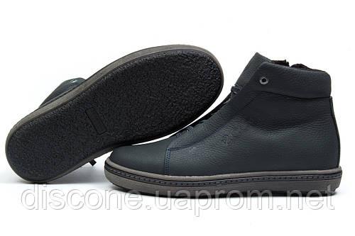 Зимние ботинки на меху Ecco SSS Shoes, темно-синий (30792), р.  [  40 42 43 44  ]