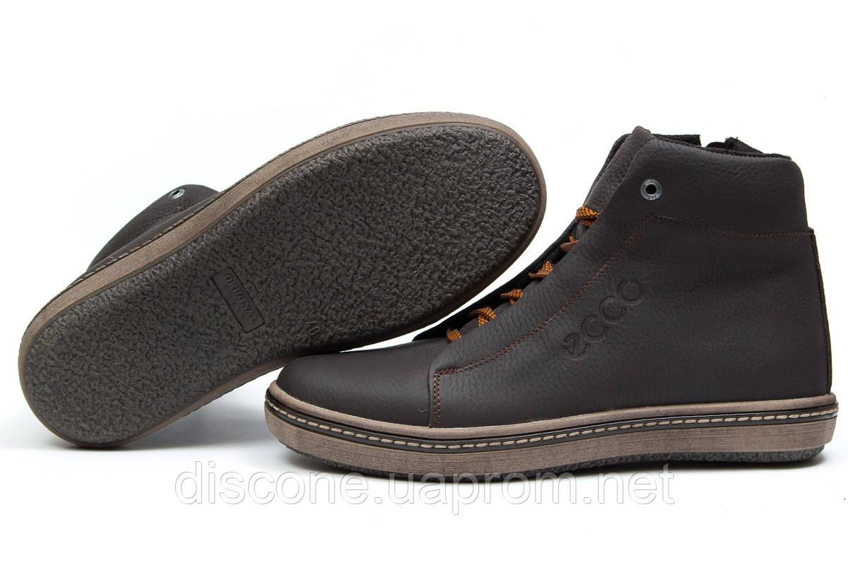 cd5029811ba50c Зимние ботинки на меху ▻ Ecco SSS Shoes, коричневые (Код: 30793) ▻ [ 40  (последняя пара) ] ✅Скидка 22%