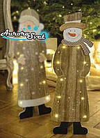 Светодиодный снеговик. Светодиодная гирлянда. Гирлянда LED. Производство Франция.