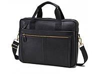 Сумка для ноутбука, мужская сумка-портфель из натуральной кожи.ТОП КАЧЕСТВО!!!, фото 1