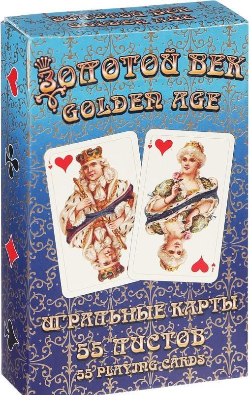 Карты игральные Золотой век (Golden Age) 1488-1612, 55 листов