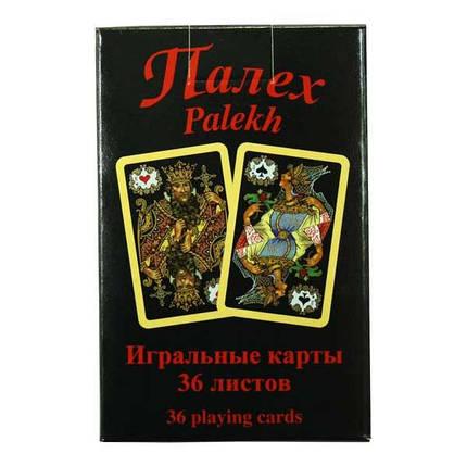 Карты игральные Piatnik Палех (Palekh), 36 листов, фото 2