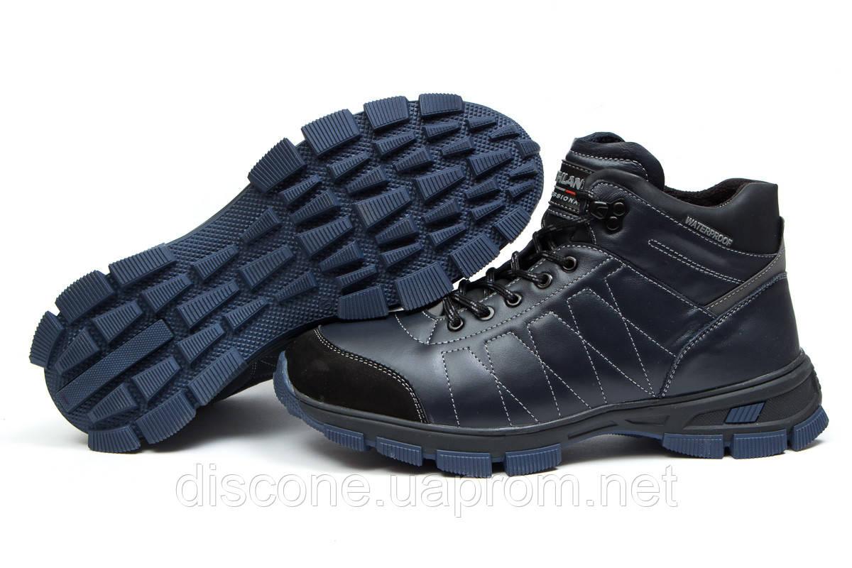 Зимние мужские ботинки 30812 ► Northland Waterproof, темно-синие ✅SALE! 56% ► [ 42 43 ]