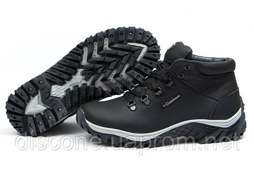 Зимние ботинки на меху Clubshoes Track, черные (30821), р.  [  40 41 42 43 44 45  ]