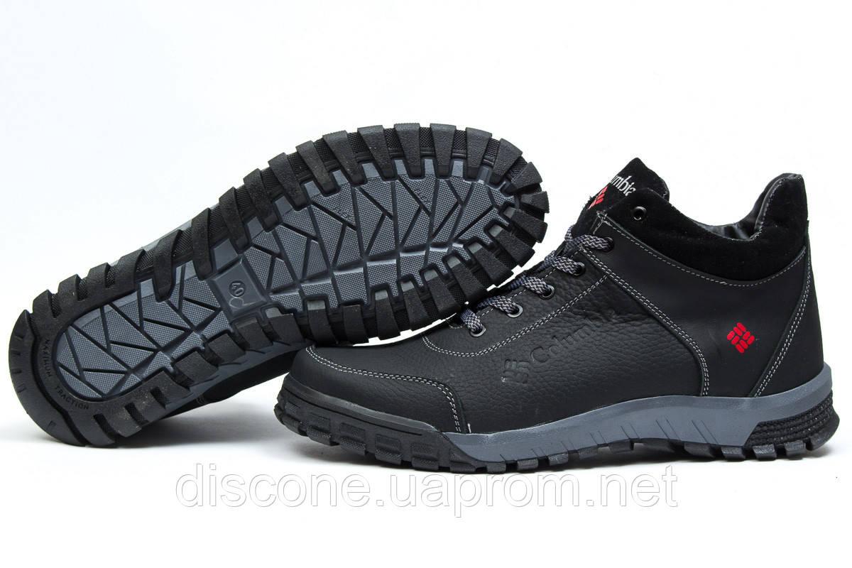 Зимние ботинки на меху ► Columbia Track III,  черные (Код: 30831) ► [  40 42 43  ] ✅Скидка 20%
