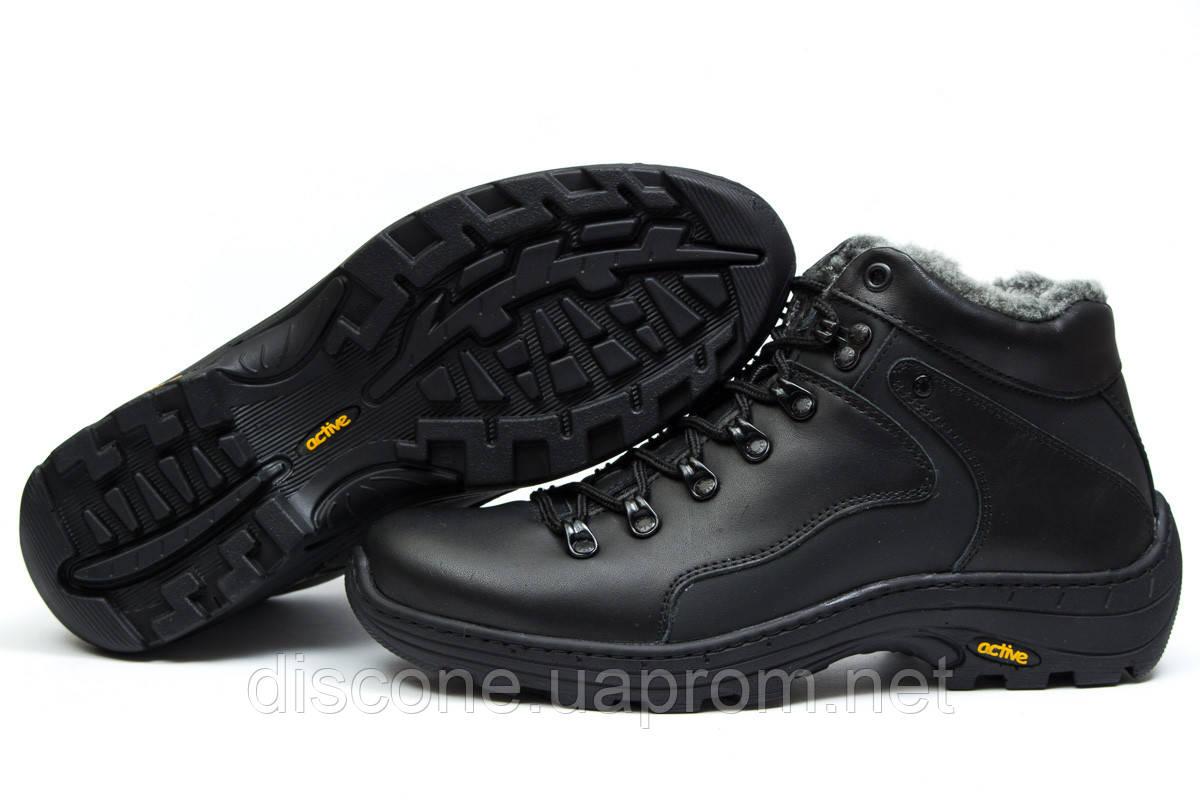 Зимние ботинки на меху ► Step Wey Active,  черные (Код: 30861) ►(нет на складе) П Р О Д А Н О!