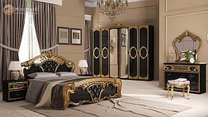 """Спальня """"Реджіна"""" від Миро-Марк (чорний глянець)."""