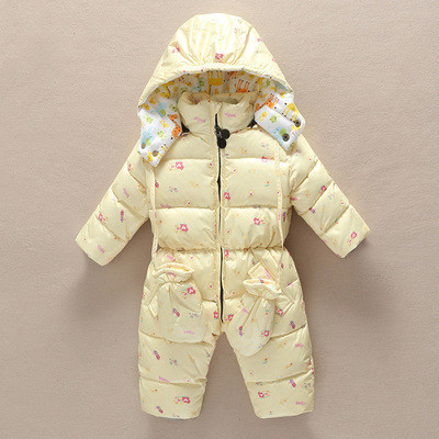 Детский комбинезон + рукавички Молочный