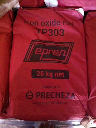 Пигмент красный, марка ТР 303 red Fepren, Precheza, Чехия