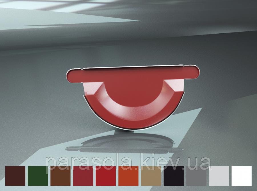 Заглушка ринви Raiko 125/90 срібний