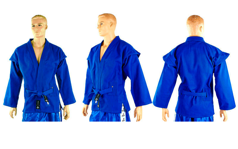 Кимоно для самбо синее MATSA