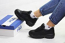 Зимние кроссовки Fila Disruptor Yalor,черные, фото 3