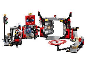 """Конструктор Bela 10804 Ninja """"Штаб-квартира Сыновей"""" (аналог Lego Ninjago 70640) 558 деталей"""