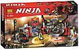 """Конструктор Bela 10804 Ninja """"Штаб-квартира Сыновей"""" (аналог Lego Ninjago 70640) 558 деталей, фото 8"""