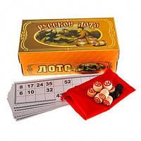 Русское лото (настольная игра) в картоной коробке, фото 1