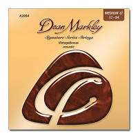 Струни для акустичної гітари DEAN MARKLEY 2004 VINTAGE BRONZE ACOUSTIC ML (12-54)