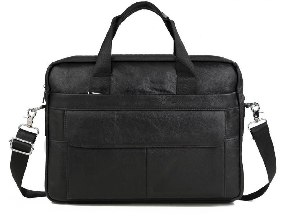 5218ff7b3229 Мужская сумка. Деловая сумка для мужчин из натуральной кожи ,черного цвета.  ТОП КАЧЕСТВО