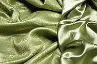 Ткань  блэкаут софт зеленый