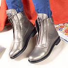 Кожаные ботинки женские демисезонные на флисе Рембо 36р. 01049, фото 6