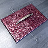 Меблева ручка MAR 7518 128 мм. бронза, фото 2