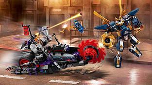"""Конструктор Bela 10805 Ninja """"Киллоу против Самурая Икс"""" (аналог Lego Ninjago 70642) 565 деталей"""