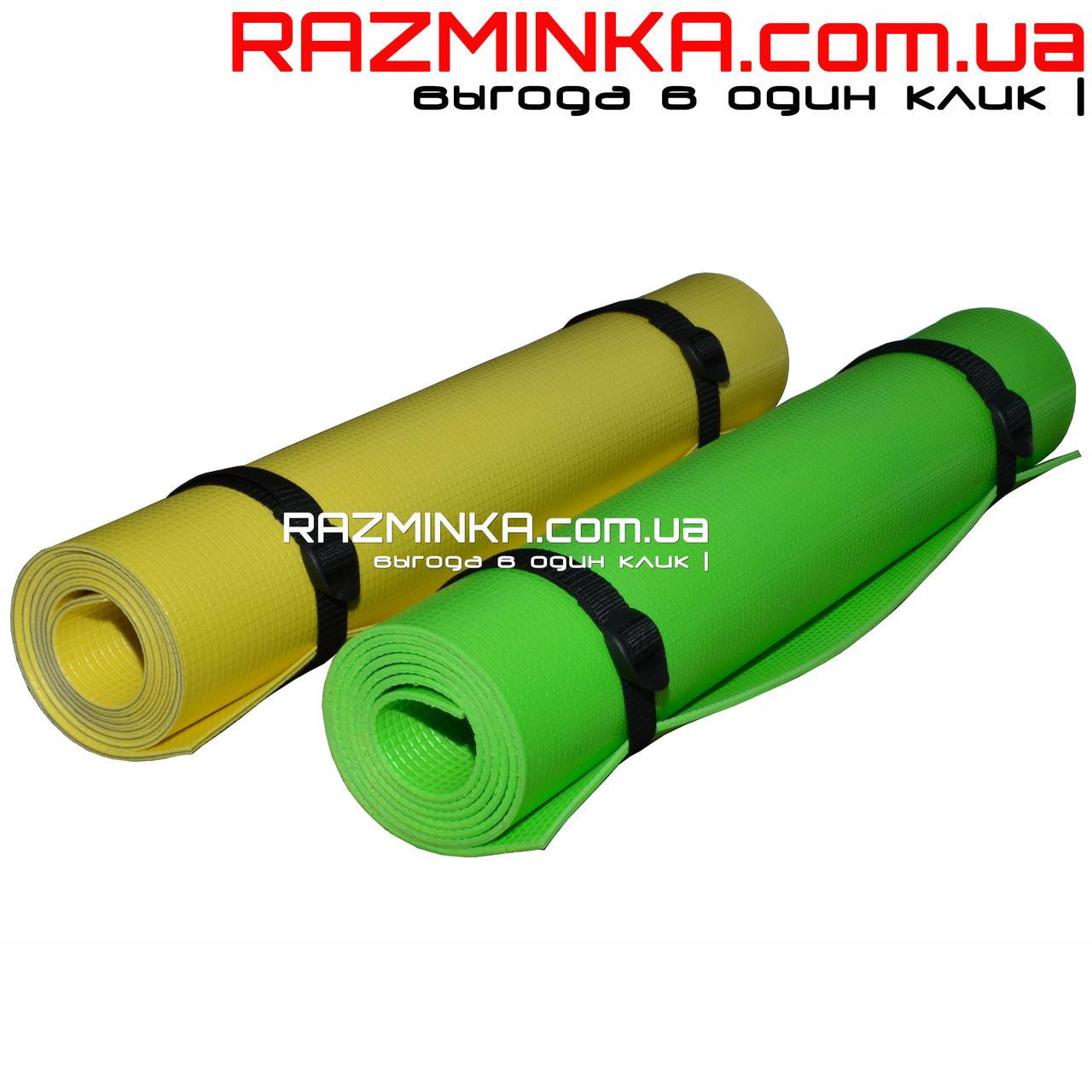 Коврик для йоги Premium 180х60см, толщина 4мм
