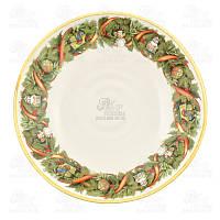 Villa Grazia Набор тарелок для супа Яркое Рождество 22см GHSOP22IS-set