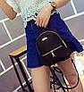 Рюкзак женский мини кожзам Samantha Черный, фото 5