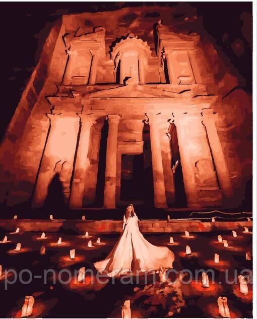 Раскраска для взрослых Ночной город Петра (PGX25367) 40 х ...
