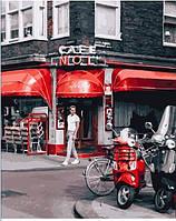 Картина по номерам Кафе в Амстердаме (PGX25368) 40 х 50 см  Premium