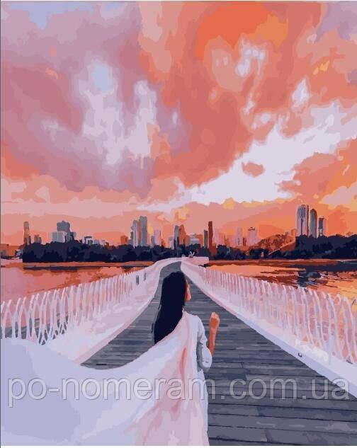 Раскраска для взрослых Город Шарджа (PGX25405) 40 х 50 см ...