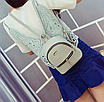 Рюкзак женский мини кожзам Samantha Серый, фото 6