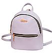 Рюкзак женский мини кожзам Samantha Серый, фото 3