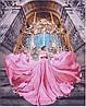 Раскраска для взрослых Малый дворец Париж (PGX25458) 40 х 50 см  Premium
