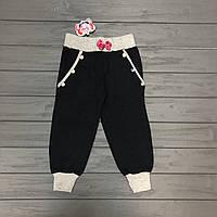 Детская одежда оптом Штаны спортивные для девочек оптом р.104-110-116, фото 1