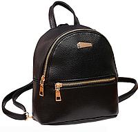 Рюкзак женский мини кожзам Samantha Черный, фото 1