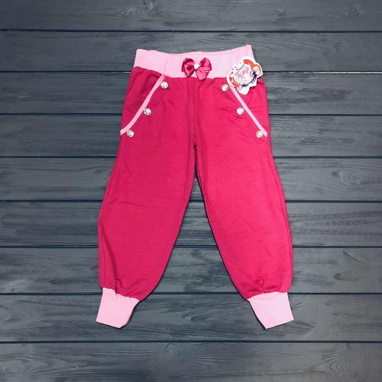 Детская одежда оптом Штаны спортивные для девочек оптом р.104-110-116-122