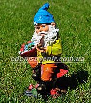 Садовая фигура Гномы малые и средние, фото 2