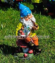 Садовая фигура Гномы малые и средние, фото 3