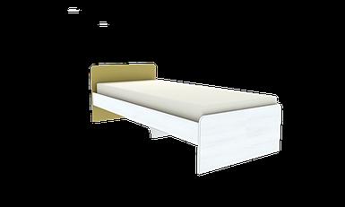 Ліжко односпальне посилена №2 , меблі для готелів