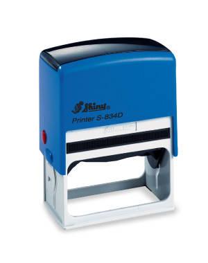 Оснастка пластиковая для штампа Shiny S-834 30Х65мм, синяя, фото 2