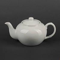 Чайник керамический белый 900 мл