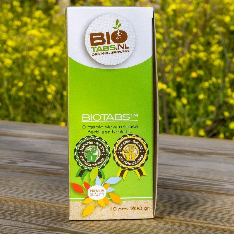 Органическое удобрение BioTabs Fertiliser Tablets 10 pcs