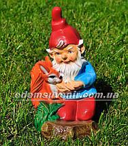 Садовая фигура Гномы малые с животными, фото 2