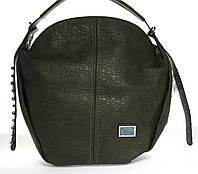 Вместительная стильная прочная модная качественная женская сумка круглой формы DOVILIart. QN1123, фото 1