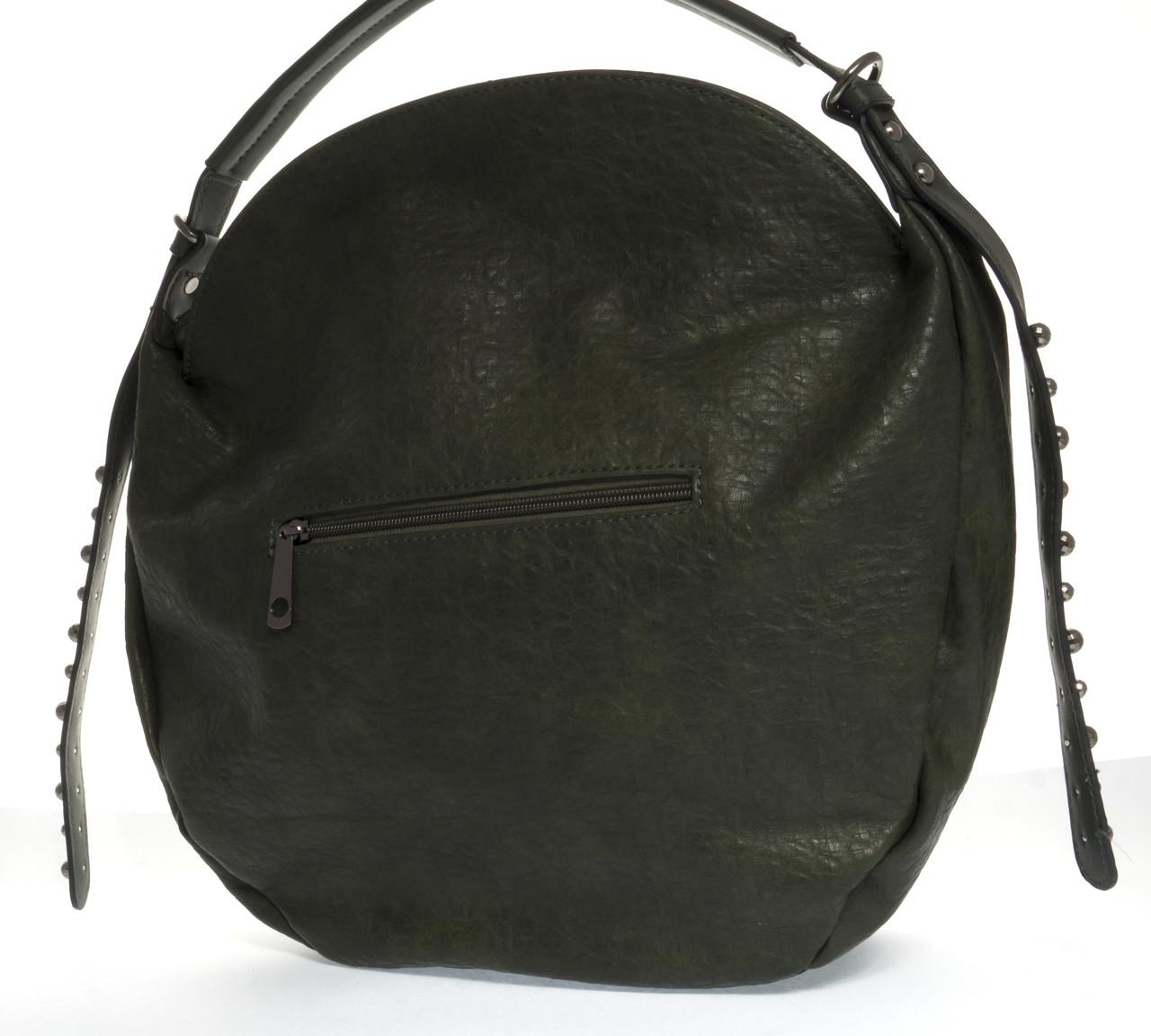 09c8750c84fd QN1123, фото 2 Вместительная стильная прочная модная качественная женская сумка  круглой формы DOVILI art.
